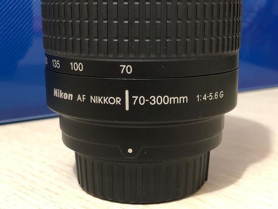 Lente Nikon Af 70-300mm Nikkor F/4-5.6 G Semi Nova