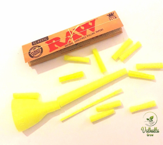 Tuqueros 420 Kit Armador Médium Con Papel Raw Valhalla Grow