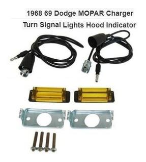 Direccionales De Cofre Dodge Charger 1968 1969