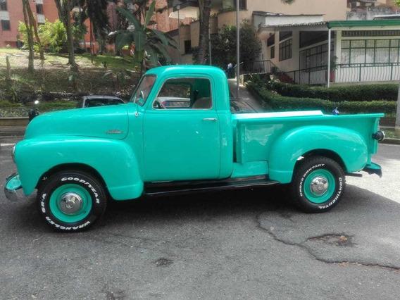 Hermosa Camioneta Chevrolet 1953