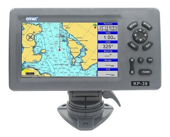 Gps Marítimo 7 Polegadas Onwa Kp-39 Com Antena Externa