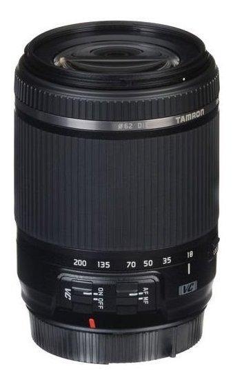 Lente Tamron 18-200mm F/3.5-6.3 Nikon