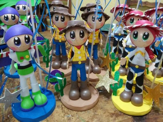 Centros De Mesa Toy Story, Cumpleaños ,fiestas Infantiles