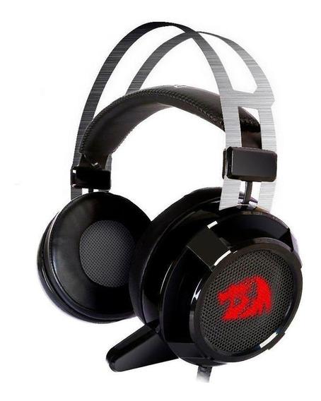 Headset Gamer Usb Siren 2.0 H601 7.1 Com Fio Redragon