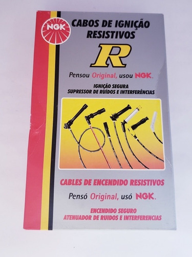 Cables De Bujia Fiesta Max Y Move Punta Metal Original Ngk