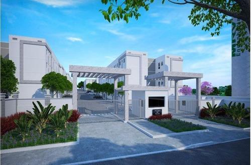 Imagem 1 de 14 de Apartamento Com 2 Dormitórios À Venda, 47 M² Por R$ 164.900,00 - Messejana - Fortaleza/ce - Ap0528