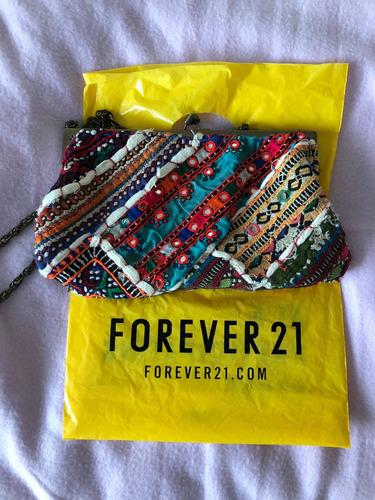 Forever21 Boemo Cartera India Espejitos