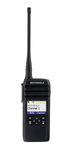 Imagen 1 de 1 de Radio Portatil Motorola Dtr720 + Bateria Extra