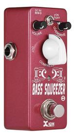 Xvive B1 Bass Squeezer Baixo Compressor Compressão Efeito