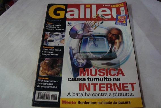 Revista Globo Galileu 94 / Musica Causa Tumulto Internet