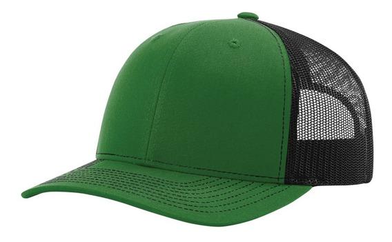 Gorra Richardson Verde / Negro