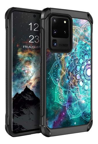 Bentoben Samsung Galaxy S20 Ultra Case, Hybrid Soft Tpu B...