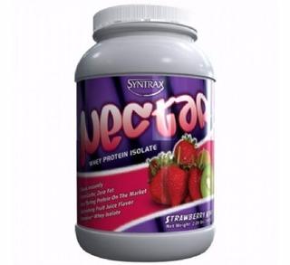 Nectar Whey Protein Isolado 907g - Syntrax Orange