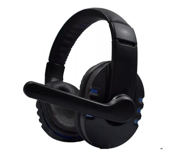 Fone Ouvido Headset Gamer Áudio Chat 7.1 Led Usb Microfone