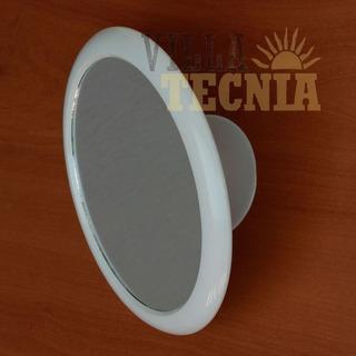 Espejo Redondo Para Baño Con Ventosa De Succión A La Pared
