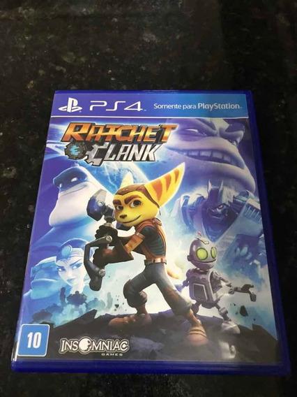 Jogo Ps4 Ratchet Clank Original Mídia Física