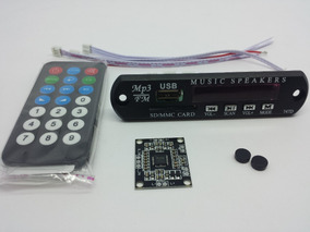 Leitor De Usb Bluetooth Com Amplificador 30w