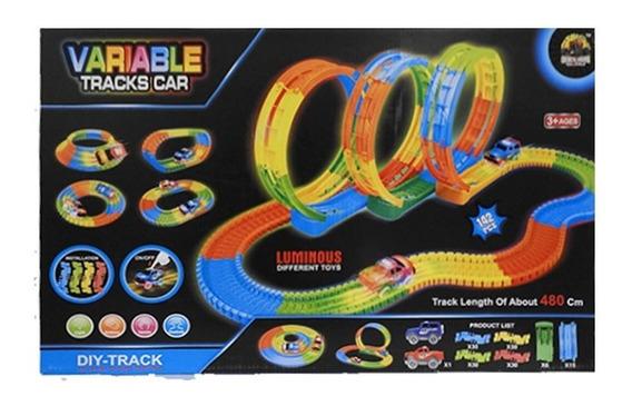 Pista Flexible 142 Pcs Con 1 Auto Luminoso 1728499 Full