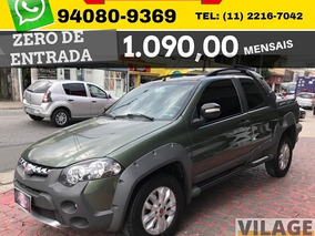 Fiat Strada 1.8 Cd Adventure Flex 2013 Sem Entrada