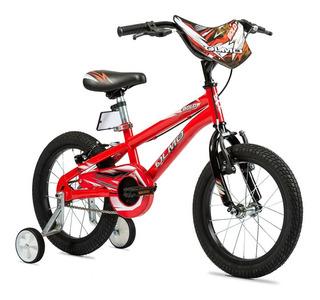 Bicicleta Olmo Bold Rodado 16-varon- C/rueditas-works!!