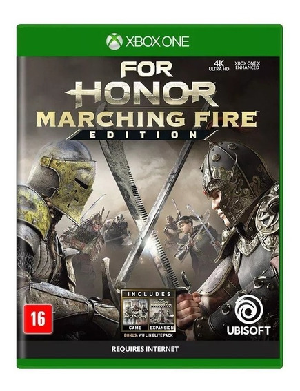 For Honor Marching Fire Edition Xbox One Nacional Lacrado Rj