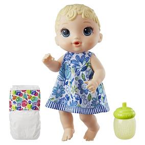 Boneca Baby Alive - Hora Do Xixi Loira