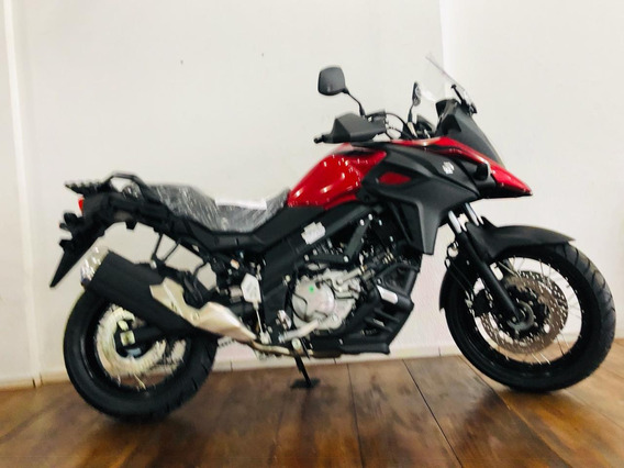 Suzuki Vstrom 650xt Vermelha 2020 0km
