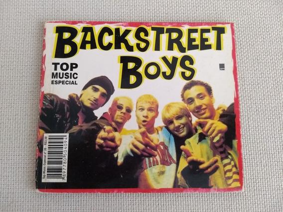 Livro Pocket Backstreet Boys Bsb Top Music Especial Raro