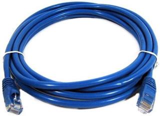 Cable De Red Patch Cord 5 Metros Armado Utp Cat. 5e Rj45