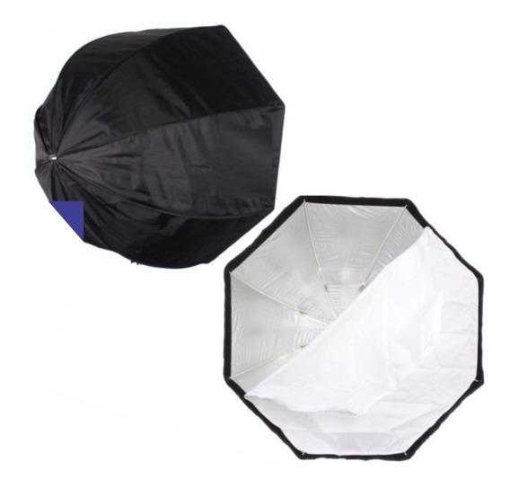 Octabox Softbox 80cm Tipo Sombrinha - Temos Loja