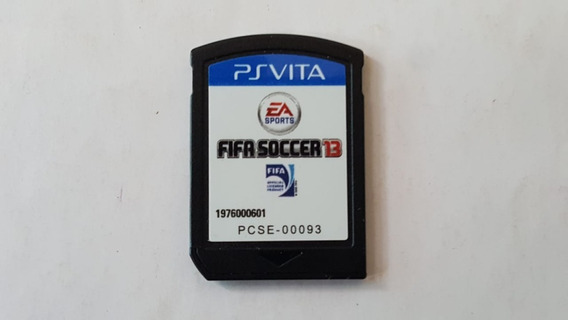 Fifa Soccer - Ps Vita - Original - Sem Capa