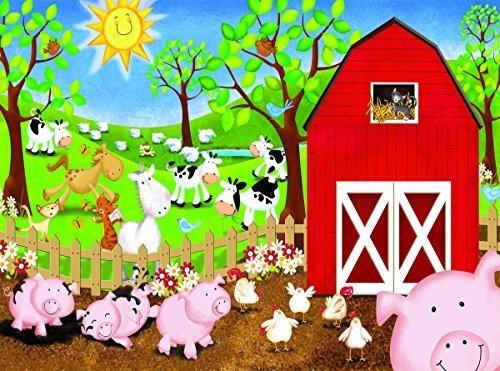 Animal Farm 63 Pc Jigsaw Puzzle Farm Theme De Sunsout