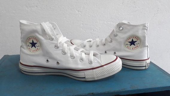Tênis Branco Cano Alto Converse All Star Ct