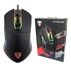 Mouse Gamer V30 Motospeed Com Frete Grátis Postagem No Dia