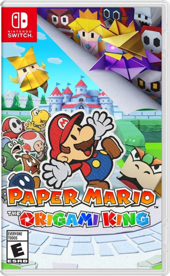 Paper Mario The Origami King Switch Mídia Física