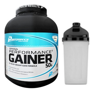 Serious Gainer 3kg (3000g) Performance Nutrition + Coquetel