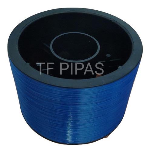 1 Linha Nylon Azul Pura C/ 3000 Jds Para Pipas E Raias Etc