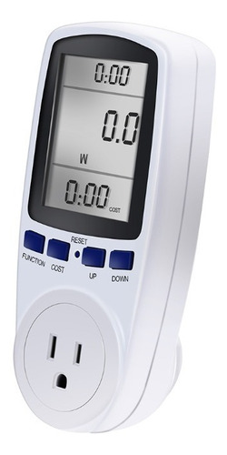 Medidor De Consumo De Energía Vatímetro 120v Digital Voltaje