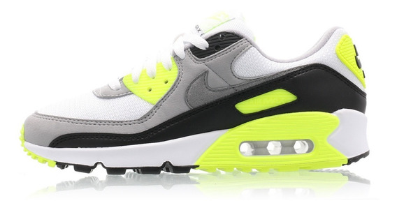 Nike Air Max 90 Og Volt Mujer Zapatillas Originales Cod 0183