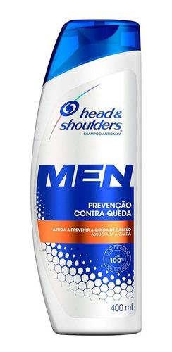 Shampoo Head&shoulders Anticaspa Contra Queda Masc. 400ml
