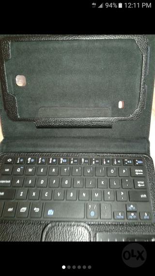 Forro Protector Teclado Para Tablet 7 Pulgadas Inalambrico
