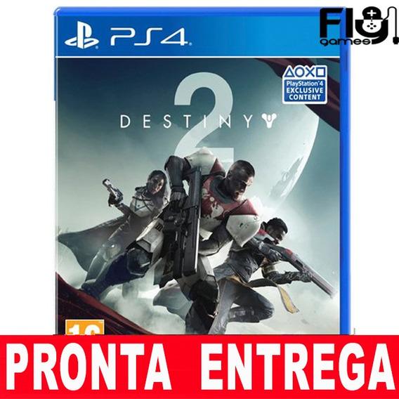 Destiny 2 Ps4 Mídia Física Lacrado Pronta Entrega