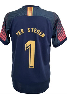 Camisa Do Goleiro Ter Stegen Do Barça