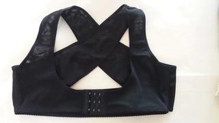 Corrector Postura Para Dama Mujer Espalda Los Pechos Negro