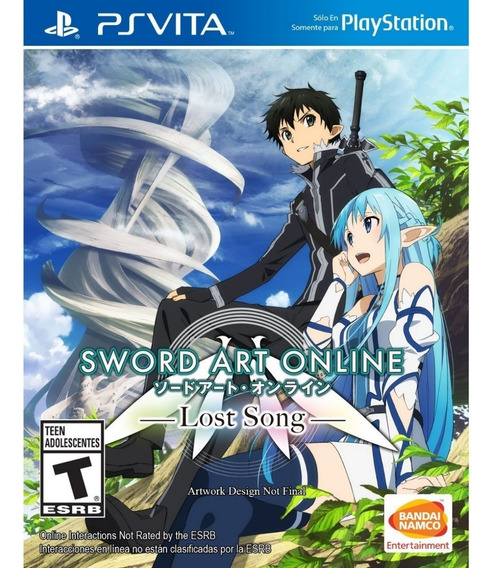 Sword Art Online Lost Song Ps Vita Midia Fisica
