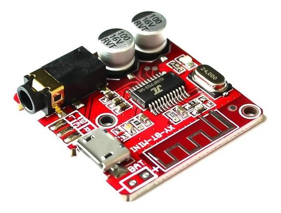 10x Mini Receptor Bluetooth 4.1 Mp3 Placa Decodificador