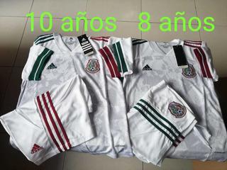 Uniforme Para Niño Selección Mexicana