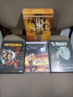 Oferta Coleccion 4 Dvds Originales Conan 1 Y 2, Leyenda, Hec