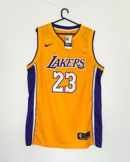 Camiseta Nba Los Angeles Lakers Lebron James 23