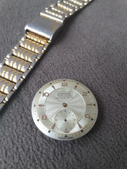 Relógio Mondaine Pulseira Conserto Reaproveitamento Peças